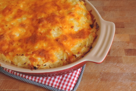 Mama Too's® Cheesy Hashbrown Casserole
